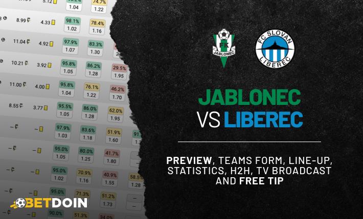 Jablonec vs Liberec: Preview, Free tip & Prediction